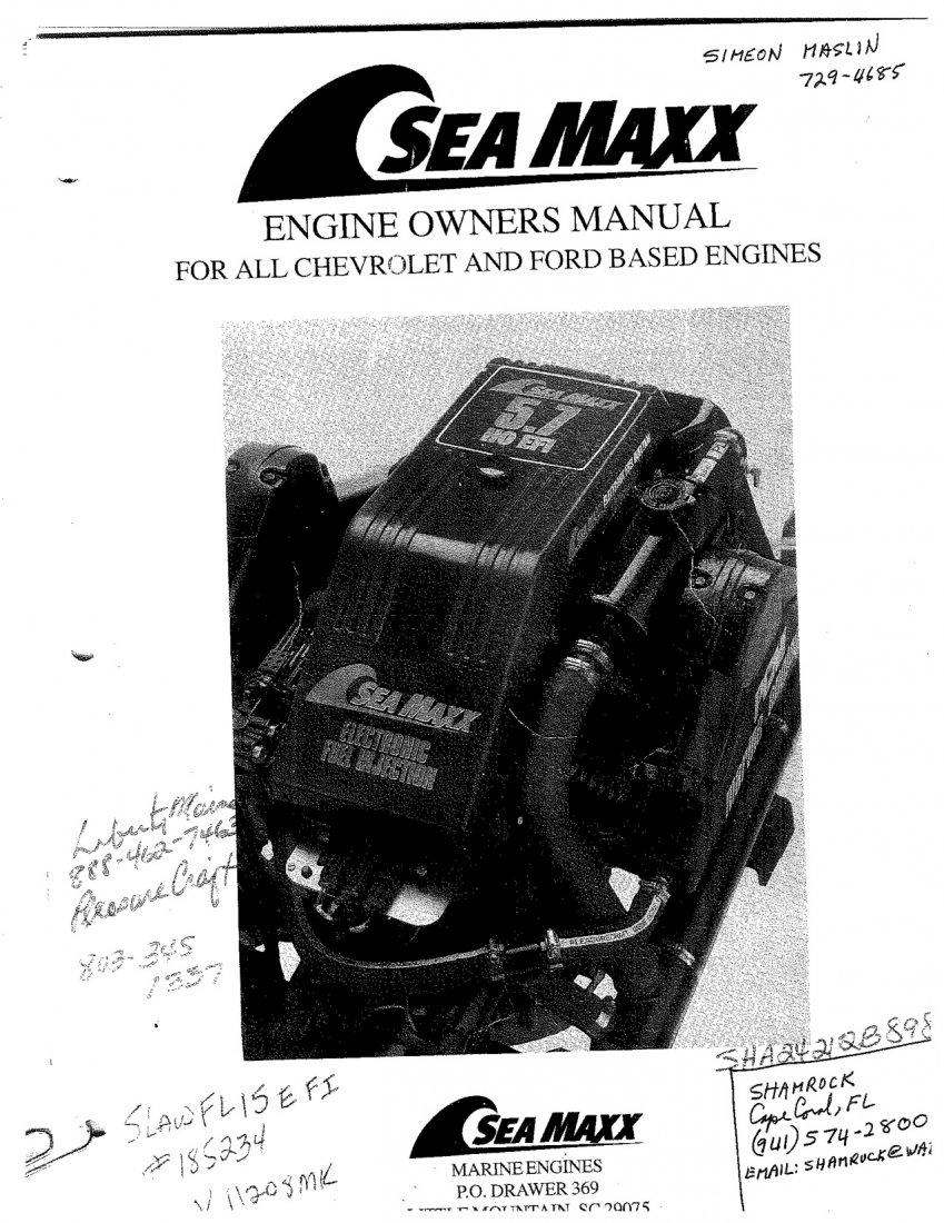 pcm sea maxx manual needed shamrock boat owners club rh shamrockboatownersclub com PCM Transmission Parts PCM Marine Engine Problems